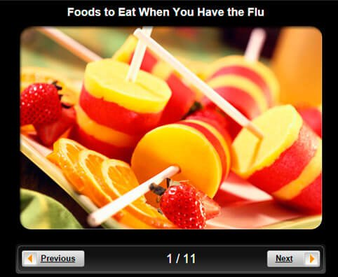 Flu Pictures Slideshow: 10 Foods to Eat When You Have the Flu