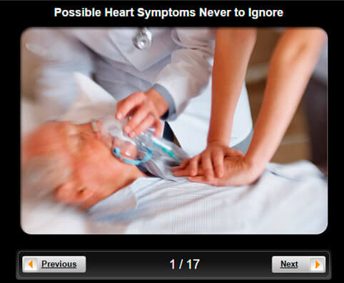 Heart Health Pictures Slideshow: 12 Possible Heart Symptoms Never to Ignore