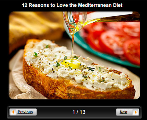 Healthy Eating Pictures Slideshow: 12 Reasons to Love the Mediterranean Diet
