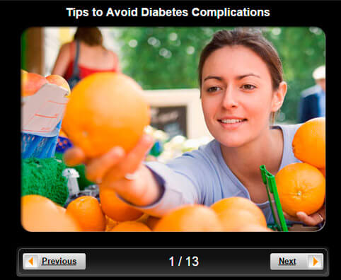 Diabetes Pictures Slideshow: 12 Tips to Avoid Diabetes Complications