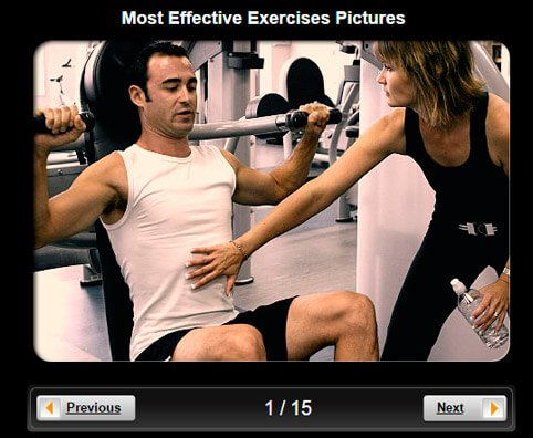 Exercise & Fitness Pictures Slideshow: 7 Most Effective Exercises