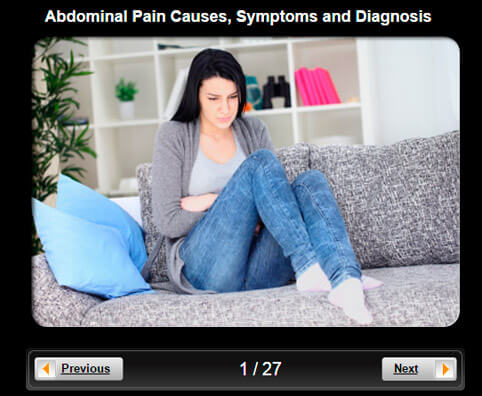 Abdominal Pain Pictures Slideshow: Causes, Symptoms and Diagnosis
