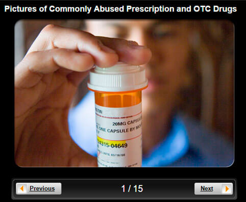 Drug Abuse Pictures Slideshow: Commonly Abused Prescription and OTC Drugs