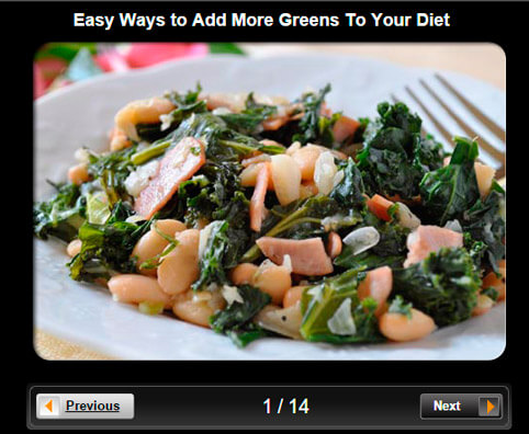 Food & Recipes Pictures Slideshow: 13 Easy Ways to Add More Greens To Your Diet