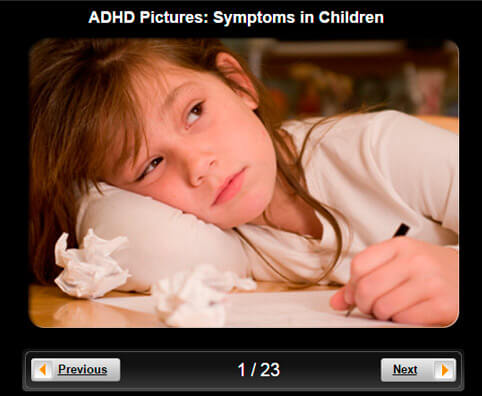 ADHD Pictures Slideshow: Symptoms in Children
