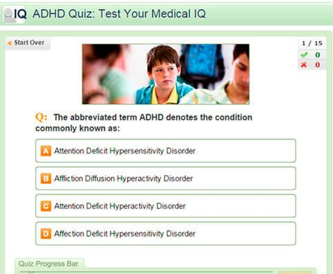 ADHD Quiz: Test Your Medical IQ