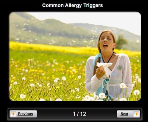 Allergy Pictures Slideshow: 10 Common Allergy Triggers