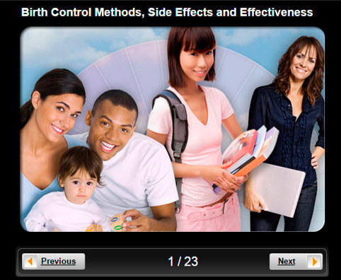 Birth Control Pictures Slideshow: Methods, Side Effects and Effectiveness