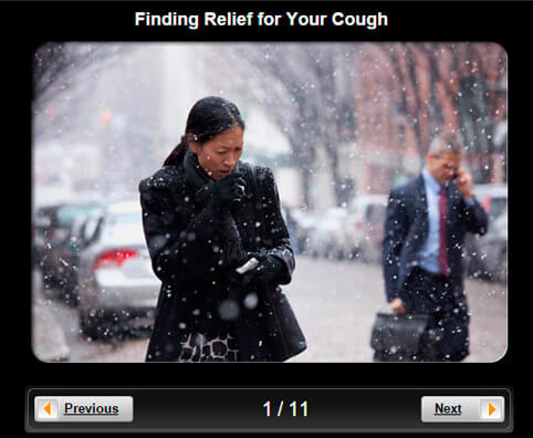 Cold and Flu Pictures Slideshow: Finding Relief for Your Cough