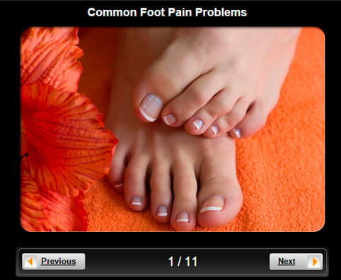 Foot Pictures Slideshow: Common Foot Pain Problems