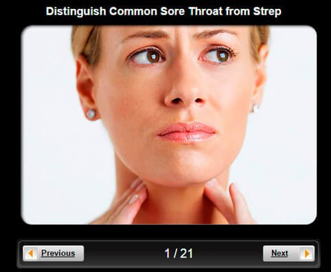 Anatomy of a Sore Throat Pictures Slideshow: Distinguish Common Sore Throat From Strep