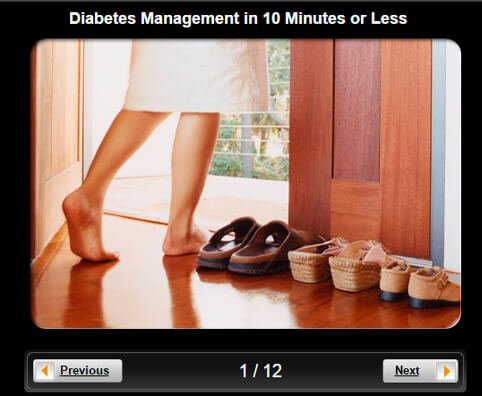 Diabetes Pictures Slideshow: Diabetes Management in 10 Minutes or Less