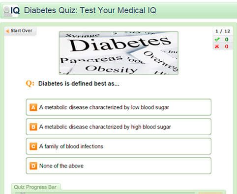 Diabetes Quiz: Test Your Medical IQ