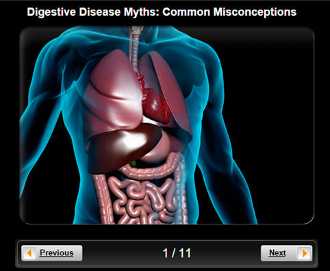 Digestive Disease Myths Pictures Slideshow: Common Misconceptions