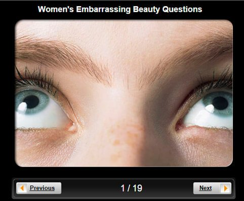Women's Health Pictures Slideshow: 18 Embarrassing Beauty Questions and Answers