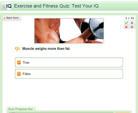 Exercise and Fitness Quiz: Test Your IQ