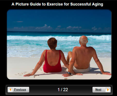 Healthy Seniors Pictures Slideshow: Exercise for Successful Aging