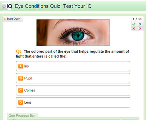Eye Conditions Quiz: Test Your IQ