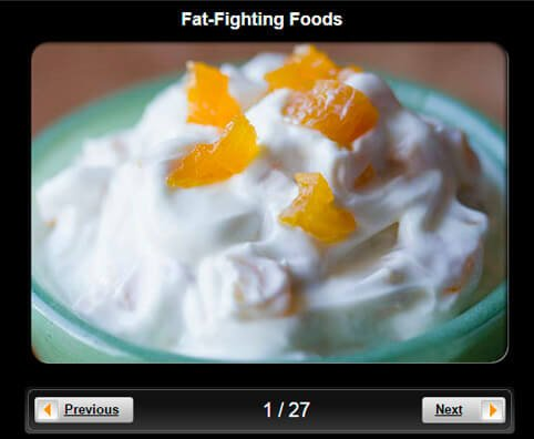 Healthy Eating Pictures Slideshow: Fat-Fighting Foods