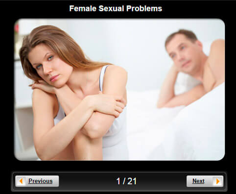 Sexual Health Pictures Slideshow: Female Sexual Problems