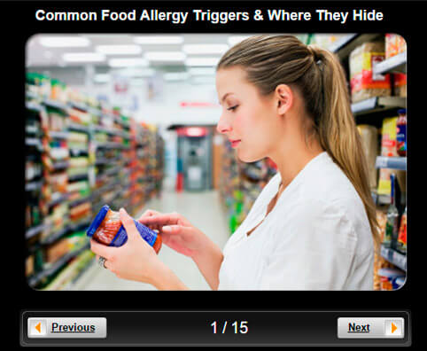 Allergy Pictures Slideshow: Common Food Allergy Triggers & Where They Hide