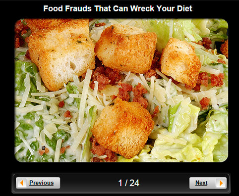 Diet Pictures Slideshow: Food Frauds That Can Wreck Your Diet