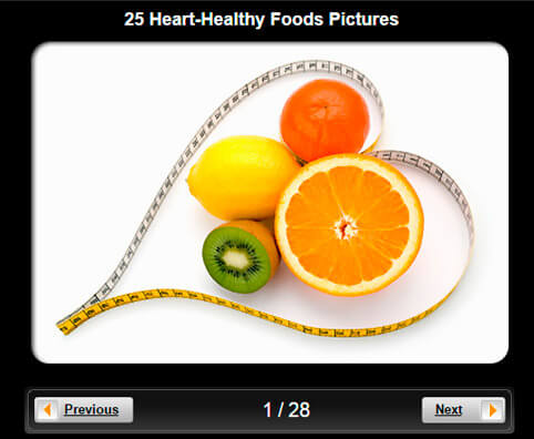Heart-Healthy Foods Pictures Slideshow: 25 Foods to Protect Your Cardiovascular System