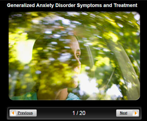 Generalized Anxiety Disorder (GAD) Pictures Slideshow: Symptoms, Diagnosis & Treatment