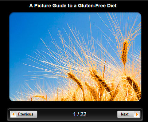 Gluten-Free Diet Pictures Slideshow