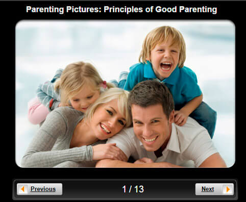 Parenting Pictures Slideshow: 10 Principles of Good Parenting