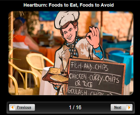 Heartburn Pictures Slideshow: Foods to Eat, Foods to Avoid