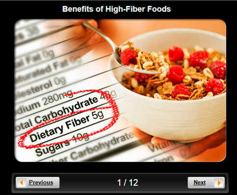 High-Fiber Foods Pictures Slideshow: Benefits For Your Heart, Weight, and Energy