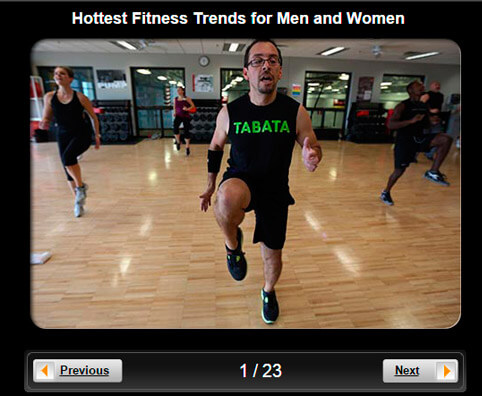 Exercise & Fitness Pictures Slideshow: 20 Hottest Fitness Trends for Men and Women