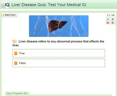 Liver Disease Quiz: Test Your Medical IQ