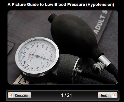 Low Blood Pressure (Hypotension) Pictures Slideshow