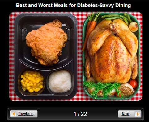 Diabetes Pictures Slideshow: Best and Worst Meals for Diabetes-Savvy Dining