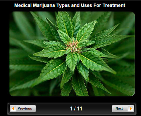 Medical Marijuana Pictures Slideshow: Types and Uses For Treatment