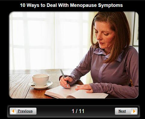 Menopause and Sex Pictures Slideshow: 10 Ways to Deal With Menopause Symptoms