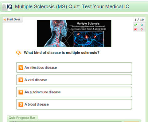 Multiple Sclerosis (MS) Quiz: Test Your Medical IQ