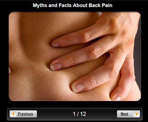 Back Pain Pictures Slideshow: Myths and Facts About Back Pain