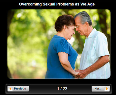 Senior Health Pictures Slideshow: Overcoming Sexual Problems as We Age
