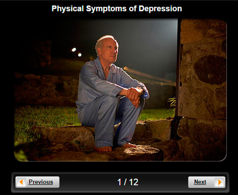 Depression Pictures Slideshow: Physical Symptoms of Depression