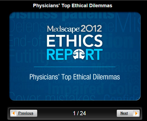 Medical Ethics Pictures Slideshow: Physicians' Top Ethical Dilemmas
