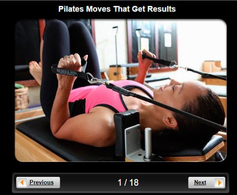 Exercise & Fitness Pictures Slideshow: 15 Pilates Moves That Get Results