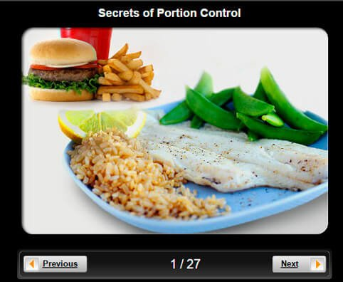 Healthy Eating Pictures Slideshow: Secrets of Portion Control