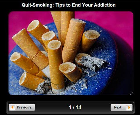 Quit-Smoking Pictures Slideshow: 13 Tips to End Your Addiction