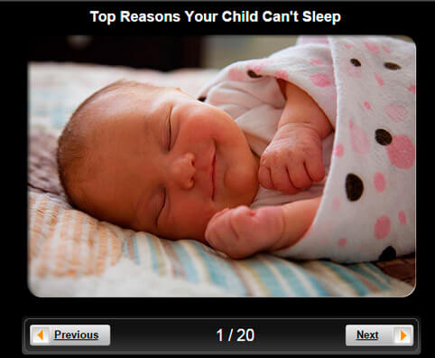 Children's Health Pictures Slideshow: Top Reasons Your Child Can't Sleep