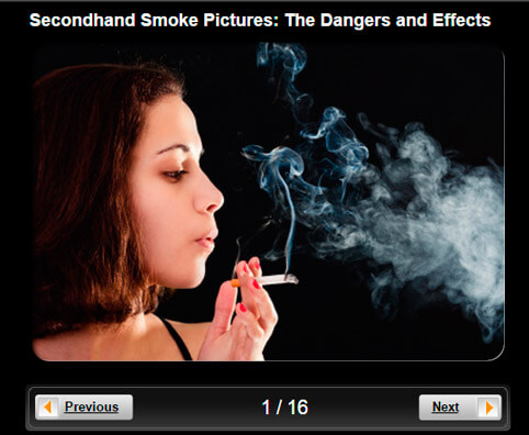 Secondhand Smoke Pictures Slideshow: The Dangers and Effects