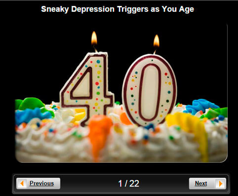 Depression Pictures Slideshow: Sneaky Depression Triggers as You Age
