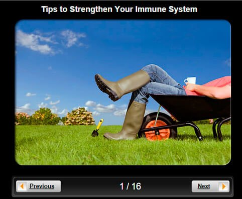 Healthy Living Pictures Slideshow: Tips to Strengthen Your Immune System